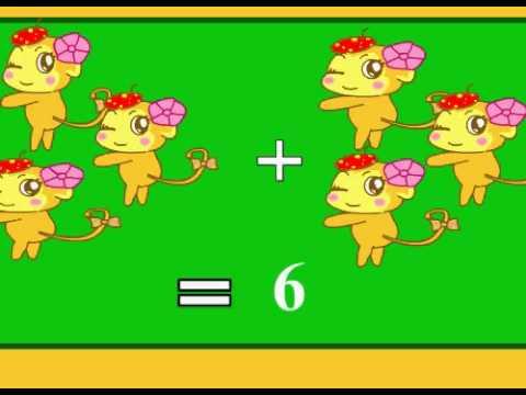 การบวกเลขและการนับเลข1-10