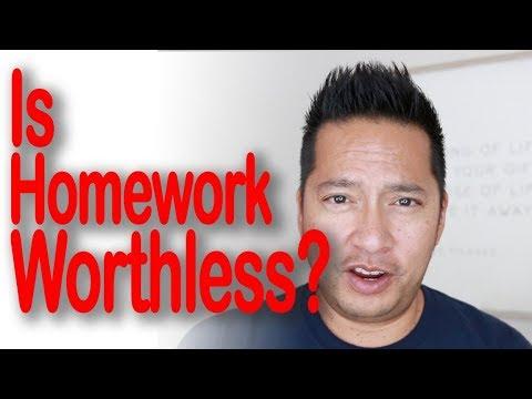 Is Homework Worthless? - 4th Grade Classroom Teacher Vlog Blog