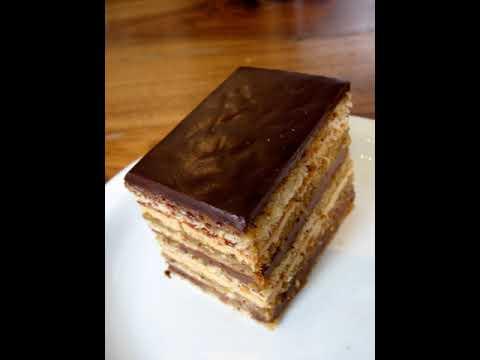 Opera cake   Wikipedia audio article