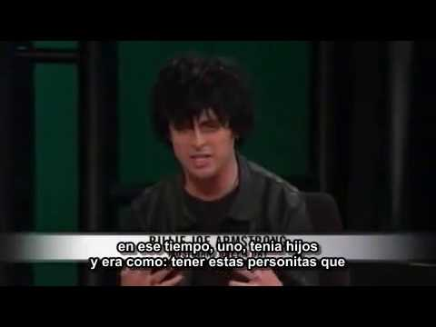 Billie Joe Armstrong entrevista con Bill Maher subtitulada 1/2