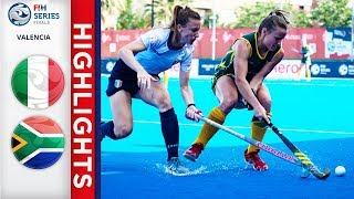 Italy v South Africa | Women's FIH Series Finals | Match 19 Highlights