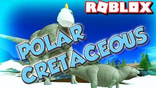ROBLOX POLAR CRETACEOUS ( BABY DINOSAURS GAMING LET'S PLAY)