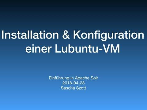 Installation von Lubuntu 18 04 (64-Bit Alternate) unter