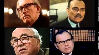 Michael Foot, Enoch Powell, Roy Jenkins & Reginald Maudling — 15-07-1973