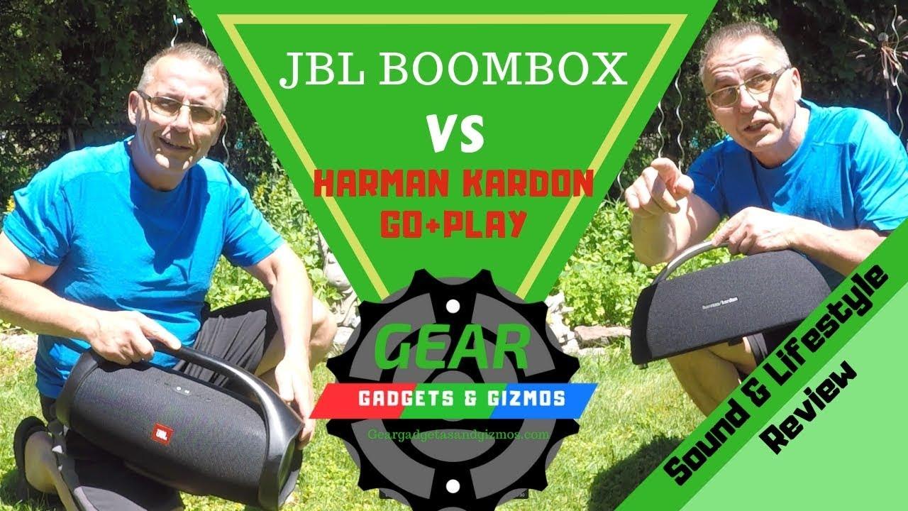 JBL Boombox Vs Harman Kardon Go+Play – Gear Gadgets And Gizmos
