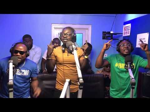 FUNNY LIVE SESSION WITH PRAYE PERFORMING GBANGBAI