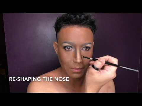 VIOLA DAVIS Makeup Transformation by Paolo Ballesteros