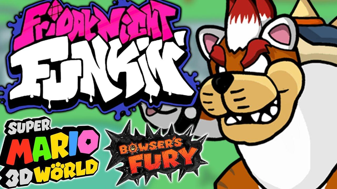Friday Night Funkin' V.S. Super Mario 3D World Medley
