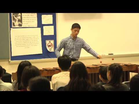 Transformation of Pachelbel's Canon by Nanane Mimura - Alvin Chung, Marimba