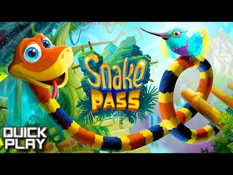 Snake Pass! Gameplay of Easy and Medium Levels! GDC Build Quick Play!