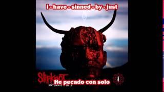 Slipknot - Wait And Bleed letra en español - ingles