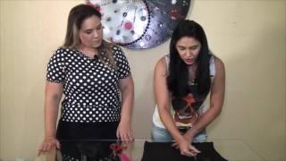 Expressão Feminina: Aprenda o passo a passo para customizar uma blusa simples.