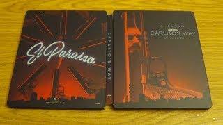 Carlitos Way Steelbook blu-ray unboxing