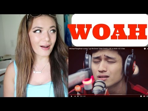 "Michael Pangilinan covers ""Lay Me Down"" REACTION  (Sam Smith)  - Reaction Video"