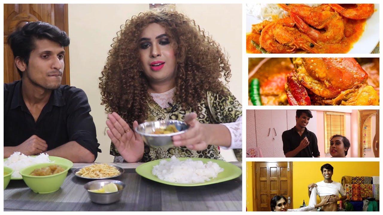 পচার সাথে চিংড়ি মাছের মালাইকারি খাওয়ার চ্যালেঞ্জ করলাম। Ft. Bostir Chele Pocha | Food Challenge |