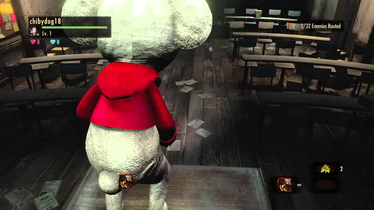 RESIDENT EVIL REVELATIONS 2 White Lottie raid mode preview