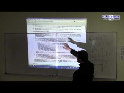 April 2013 Customs Broker License Examination Preparation Class 4 Part 1