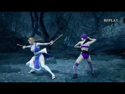 SOULCALIBUR™Ⅵ Ayane vs Kasumi (Dead or Alive)