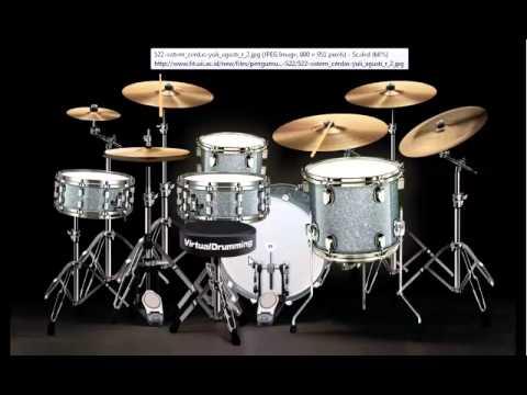 Netral - Cinta Gila  virtual drumming cover by fandy