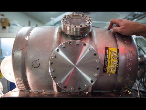 Beer keg nuclear fusion at ASU, but why a beer keg?!?