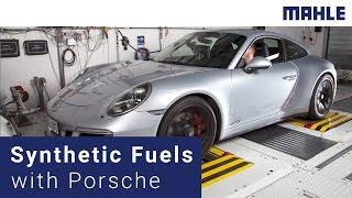 Synthetic Fuels Complement E-Mobility - MAHLE & Porsche