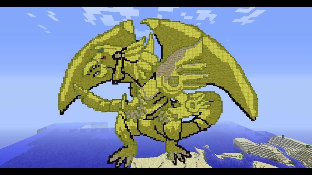 Obelisk The Tormentor Art Minecraft - Yugioh The...