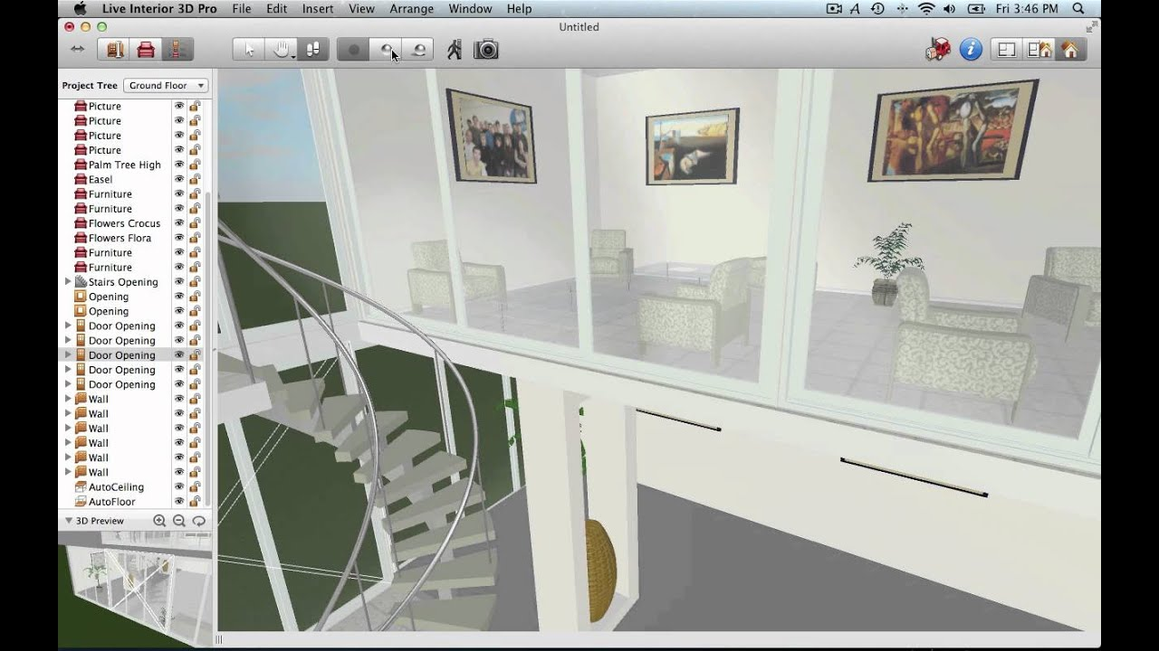 Live interior 3d review latest version youtube Professional interior design software reviews