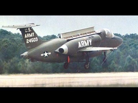 Lockhead XV-4 Hummingbird Test Flight Crash