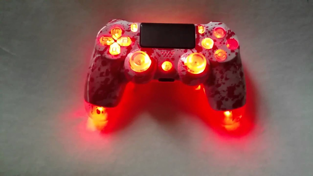 Red scuf controller