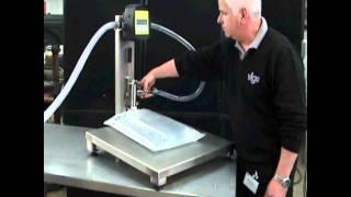 Manual Bag Filler with Flow Meter - from Vigo Ltd
