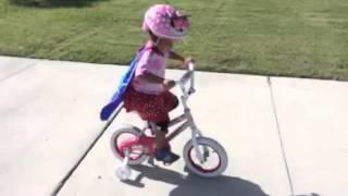super adele on her bike