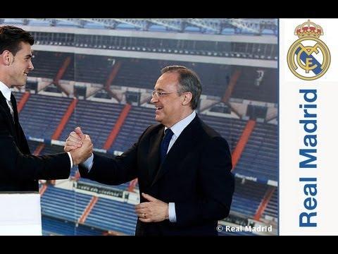 Discurso íntegro de Florentino Pérez en la presentación de Gareth Bale