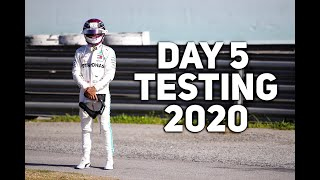 F1 2020 Testing Day 5 Highlights | Hamilton OUT!
