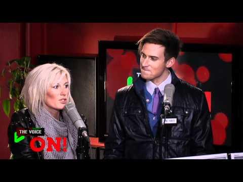 Søren Bregendal & Malene Qvist i The Voice ON!