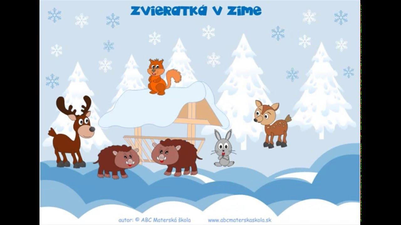 9476381717 Zvieratká v zime - Ako sa deti v zime o zvieratká postarali - YouTube