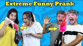 Extreme Prank For 24 Hours | Funny DIY Prank Challenge | Hungry Birds