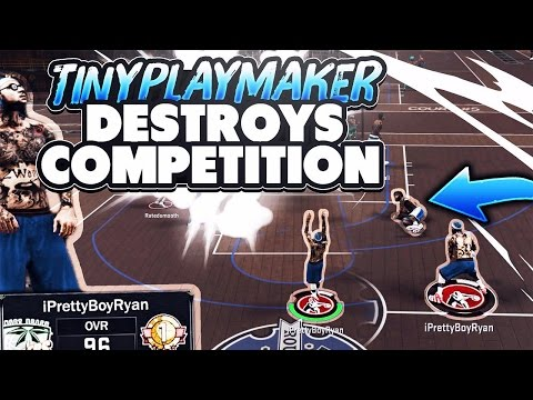 OMG MY TINY PLAYMAKER IS A GOAT !! 😱 | NBA 2K17 MYPARK | THE CHEESE DRIBBLE COMBOS | 6'3 PLAYMAKER