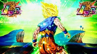 GOKU'S TRUE POTENTIAL! LR GOKU ON THE PURE SAIYAN CATEGORY TEAM! (DBZ: Dokkan Battle) thumbnail