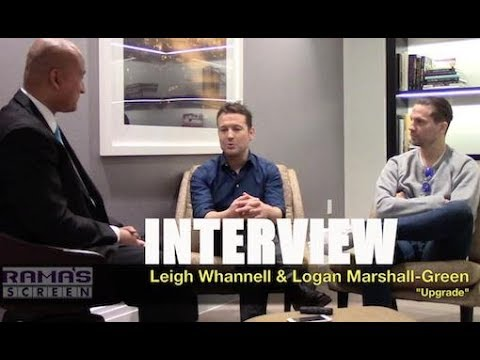 My  with Leigh Whannell and Logan MarshallGreen about 'UPGRADE' Movie