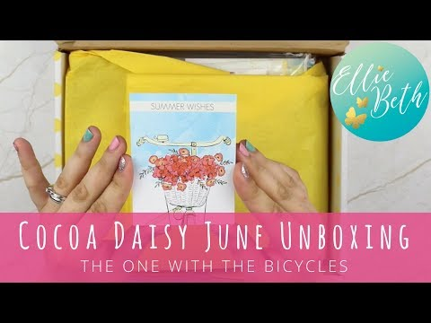 Cocoa Daisy June Unboxing! The One With the Bicycles...