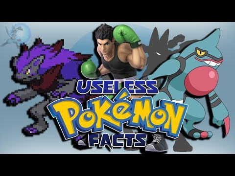 20 More Useless Pokémon Facts
