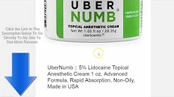 Non Prescription Lidocaine Cream Otc