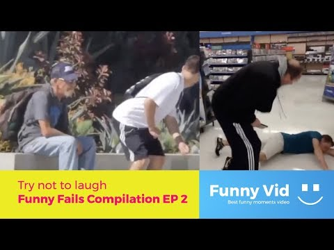 Try not to laugh - Funny Fails, Pranks Compilation EP 3