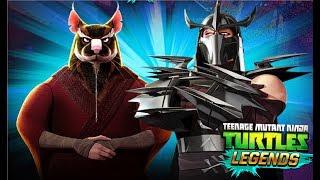 Черепашки ниндзя Легенды #113 Турнир + Испытание  Составы от подписчиков Мульт игра TMNT Legends