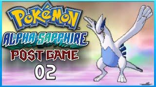 Pokemon Alpha Sapphire Post Game 2 Catching Lugia ORAS Gameplay Walkthrough Playthrough
