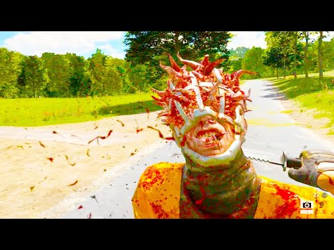 Serious Sam 4 - Combine Harvester Gameplay Mission Scene (Serious Sam 4 2020 PC Gameplay)  