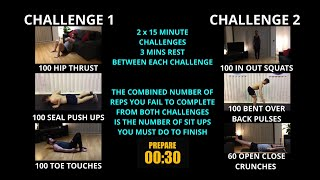 Week 16   HIIT Chipper