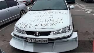 Сами Насери оставил автограф на копии Peugeot 406 из фильма «Такси»