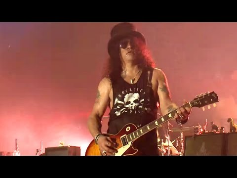 Slash Ft. Myles Kennedy & The Conspirators - Paradise City @ Telekom VOLT Festival 2015