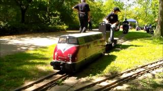 Dampfbahn Leverkusen Fahrtag Mai 2013 (09:58)